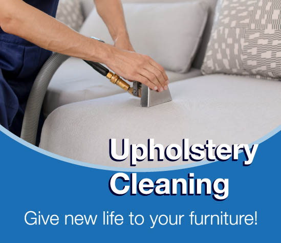 Upholstery Cleaning: Give new life to your furniture!